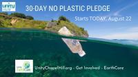 30-Day No Plastic Pledge