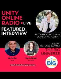 UnityFM Radio Show Interviews with Rev. Victoria Loveland-Coen