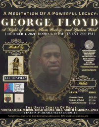 A Meditation Of A Powerful Legacy - George Floyd - A Night of Music, Slam Poetry and Spoken Word