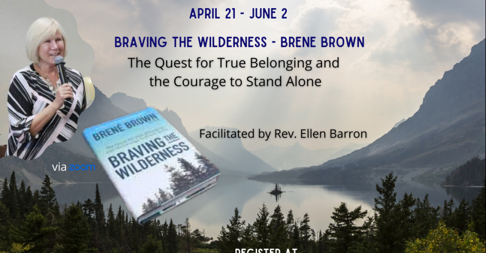 Book Study - Braving the Wilderness